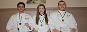 students bring home the medals in catering competition