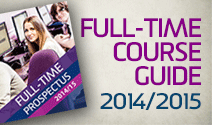 Full-time course guide 2014-15