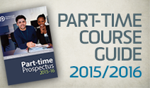 Part-time course guide 2015/16