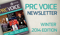 PRC Voice newsletter - winter edition 2014