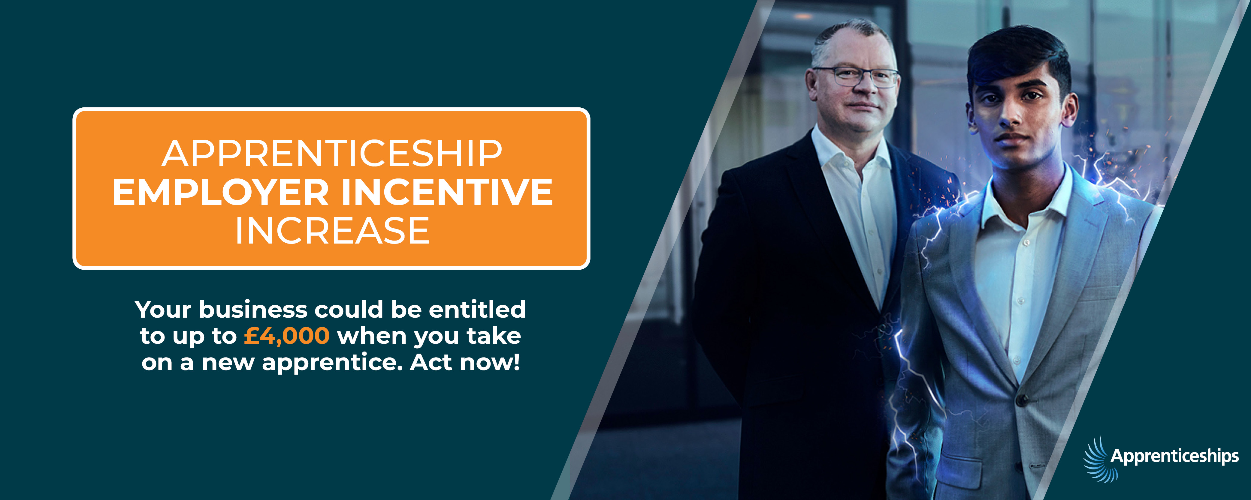 Apprenticeship Employer Incentive Increase - Find out more