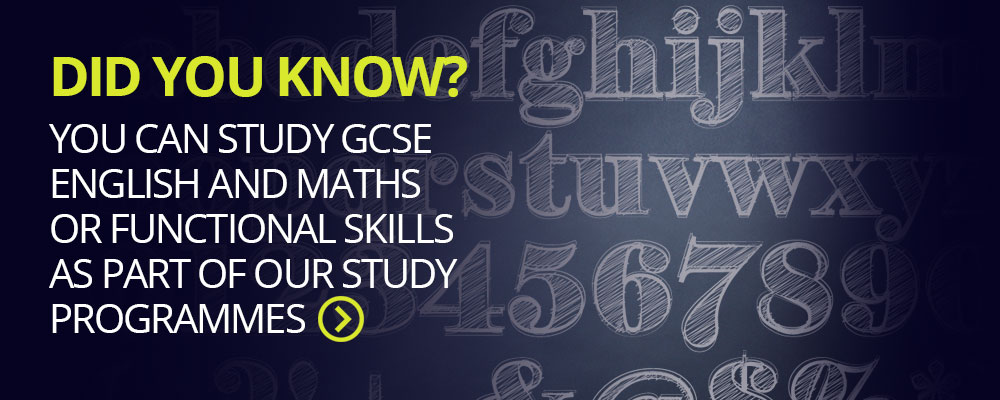 Studying maths and English at college alongside your study programme