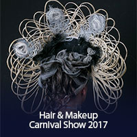 Hair and Makeup carnival show 2017