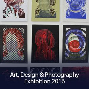Art, Design & Photography Exhibition 2016