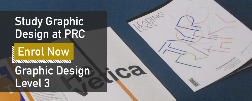 Apply now for Graphic Design Level 3