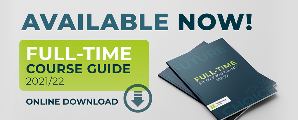 Full-time course guide 2021-22 - download here