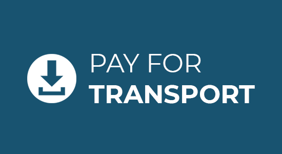 Pay for transport