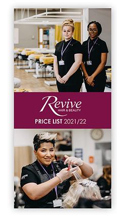 Revive Pricelist