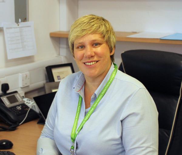 Peterborough College principal - Rachel Nicholls